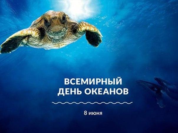 Открытка всемирный день океанов